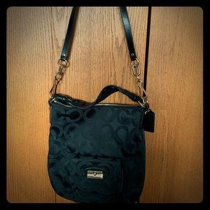 Coach Convertible Hobo/Crossbody Bag